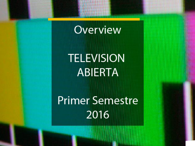 Overview TV 2016