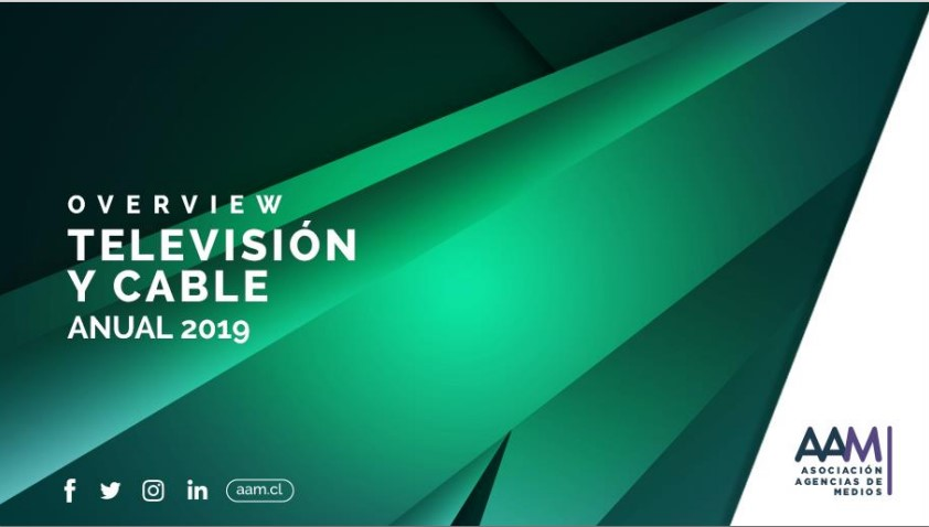 OVERVIEW ANUAL TELEVISIÓN Y CABLE 2019